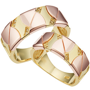CF40417 드람브르 Yellow & Pink Gold